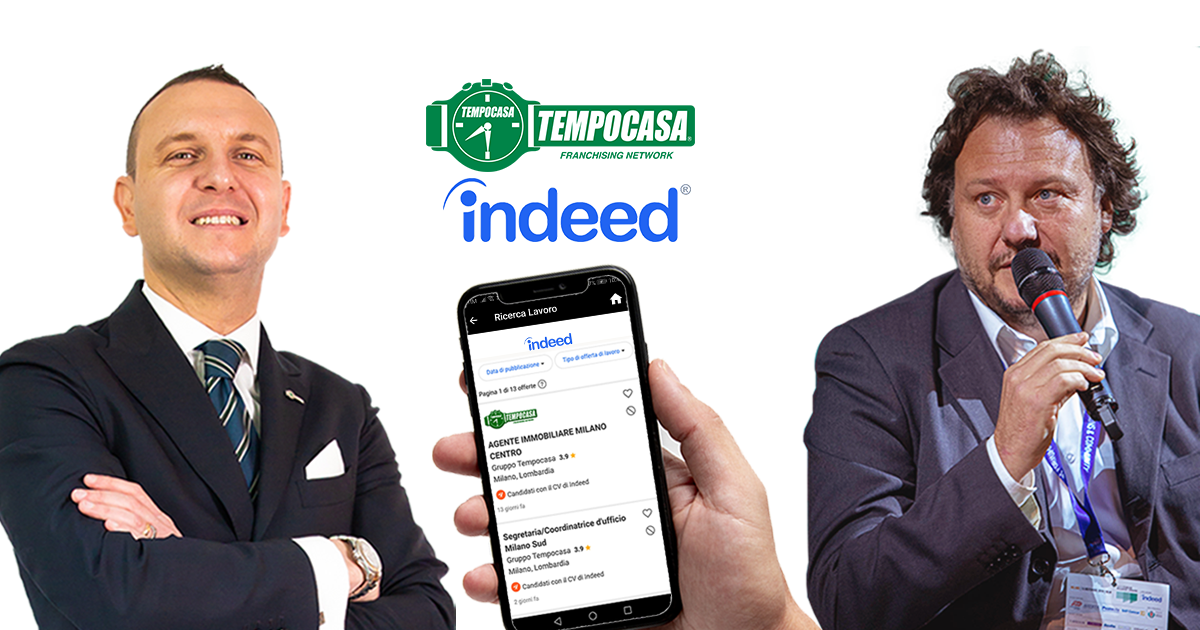 Tempocasa sigla un accordo con Indeed